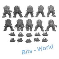 Warhammer Bits: Kharadron Overlords Arkanaut Company - Bodies X10