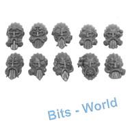 Warhammer Bits: Kharadron Overlords Arkanaut Company - Heads X10