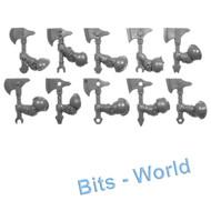 Warhammer Bits: Kharadron Overlords Arkanaut Company - Axes X10