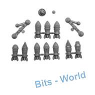 Warhammer Bits: Kharadron Overlords Grundstok Gunhauler - Bombs & Carbine