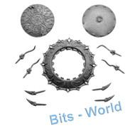 Warhammer/40k Bits: Chaos Daemons Burning Chariot - Disc Of Tzeentch