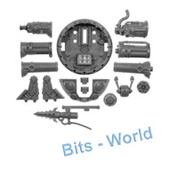 Warhammer Bits: Kharadron Overlords Arkanaut Ironclad - Cannons & Skyhook