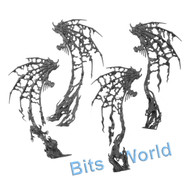 WARHAMMER BITS: UNDEAD LEGIONS MORGHAST ARCHAI/HARBINGERS - WINGS (2 SETS)