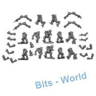 Warhammer Bits: Blood Bowl Scarcrag Snivellers - Bodies X12