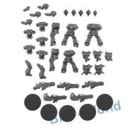 Warhammer 40k Bits: Dark Imperium Primaris Space Marine Hellblasters X5