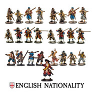 Blood & Plunder: English Nationality Set