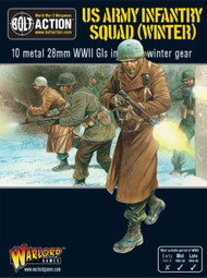 Bolt Action: USA - Army Infantry Squad (Winter)