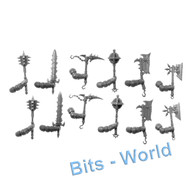 WARHAMMER BITS: Slaves to Darkness CHAOS KNIGHTS - ENSORCELLED WEAPONS X12