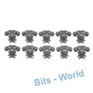 WARHAMMER 40K BITS: SPACE MARINES PRIMARIS INTERCESSORS - PACKS X10