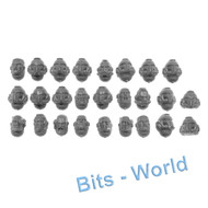 WARHAMMER 40K BITS: SPACE MARINES PRIMARIS INTERCESSORS - HEADS X24