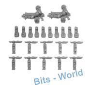 WARHAMMER 40K BITS: SPACE MARINES INTERCESSORS - AUTO-BOLT / STALKER-BOLT UPGRADES