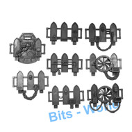 Warhammer 40k Bits: Terrain Galvanic Magnavent - Walls