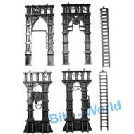 Warhammer 40k Bits: Terrain Galvanic Magnavent - Legs & Ladders