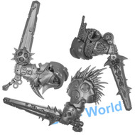 WARHAMMER 40K BITS: CHAOS SPACE MARINES BLIGHTLORD TERMINATORS - BALESWORDS X3