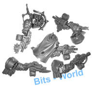Warhammer 40k Bits: Chaos Space Marines Blightlord Terminators - Arms With Bolter X5