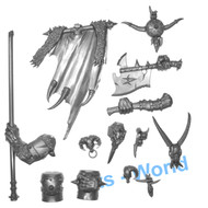 Warhammer Bits: Beasts Of Chaos Bullgors - Command Upgrades
