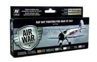 Vallejo Paints: Air War Colors: Day Fighters Pre-War To 1941
