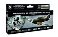 Vallejo Paints: Air War Colors: Seac (Air Command South East Asia) 1942-45
