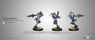 Infinity: PanOceania - Crusader Brethren (Multi Rifle + Light FT)