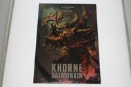 Warhammer 40k 40000 Codex Khorne Daemonkin Games Workshop Hardcover sealed (U-B5S3 194736)