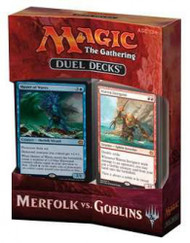 Magic The Gathering Sealed: Duel Decks Merfolk vs Goblins