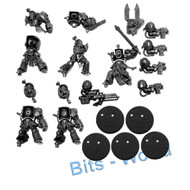 WARHAMMER 40K BITS: DARK VENGEANCE 5X DARK ANGEL DEATHWING TERMINATORS