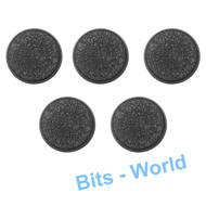 WARHAMMER 40K BITS: BLOOD ANGELS DEATH COMPANY - 32MM ROUND BASES 5X