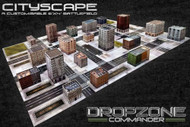 Dropzone Commander: Cityscape Card Scenery Pack