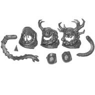 Warhammer Bits: Maggotkin Of Nurgle Beast Of Nurgle - Face X3