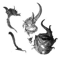 Warhammer Bits: Maggotkin Of Nurgle Great Unclean One - Head W/ Tounge