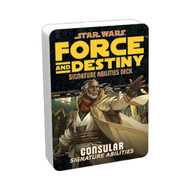 Star Wars: Force and Destiny - Specialization Deck: Consular Signature Abilities
