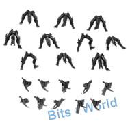 Warhammer 40k Bits: Dark Eldar Kabalite Warriors - 10x Legs