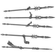Warhammer Bits: Daughters Of Khaine Khinerai - Barbed Javelins X5