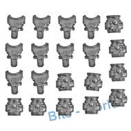 Warhammer 40k Bits: Horus Heresy Mark Iii Space Marines - Torsos X10