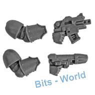Warhammer 40k Bits: Horus Heresy Mark Iii Space Marines - Bolt Pistol & Plasma Pistol