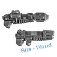 Warhammer 40k Bits: Horus Heresy Mark Iii Space Marines - Heltagun & Plasma Gun