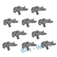 Warhammer 40k Bits: Horus Heresy Mark Iii Space Marines - Boltguns X10