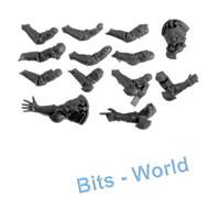 WARHAMMER 40K BITS: HORUS HERESY SISTERS OF SILENCE - ARMS X12