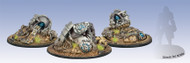 Warmachine: Accessories - Convergence of Cyriss Vector Wreck Markers (3)   (OOP)