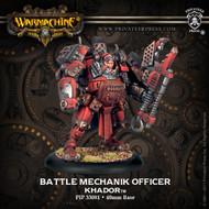 Warmachine: Khador - Battle Mechanik Officer - Unit Attachment