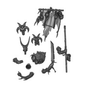 Warhammer Bits: Beasts Of Chaos Ungor Herd - Champion, Standard, & Musician Upgrades