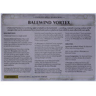 Warhammer Bits: Soul Wars Malign Sorcery - Balewind Vortex Card