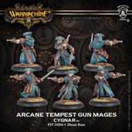 Warmachine: Cygnar - Arcane Tempest Gun Mages - Unit