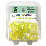 Polyhedral: Diffusion Ochre Jelly/White (7)