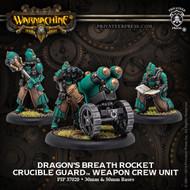 Warmachine: Golden Crucible - Dragon's Breath Rocket