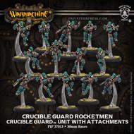 Warmachine: Golden Crucible - Crucible Guard Rocketmen