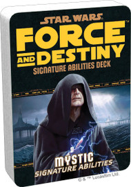Star Wars: Force And Destiny - Mystic Signature Abilities Deck