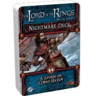 Board Game Fantasy Flight Games: The Lord Of The Rings Lcg - Nightmare Deck: A Storm On Cobas Haven