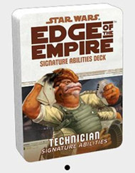Star Wars: Edge Of The Empire - Technician Signature Abilities Deck