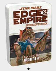 Star Wars: Edge Of The Empire - Modder Specialization Deck